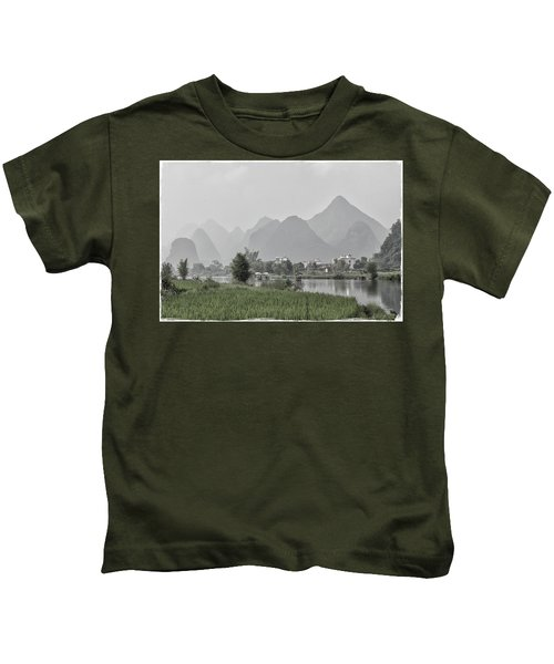 River Rafting Kids T-Shirt