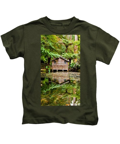 River Reflections Kids T-Shirt