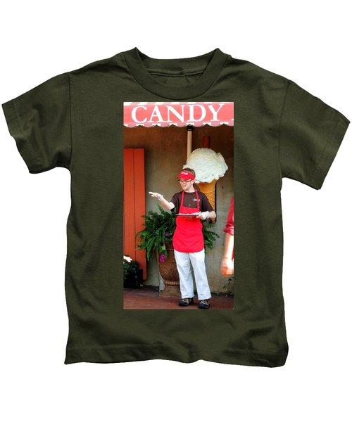 River Street Candy Man Kids T-Shirt