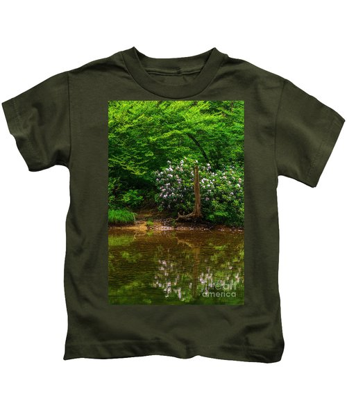 Riverside Rhododendron Kids T-Shirt