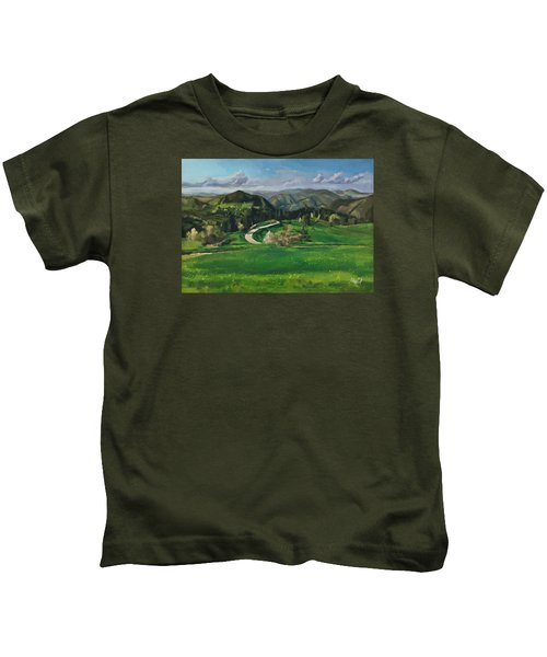 Road In The Mountains Kids T-Shirt