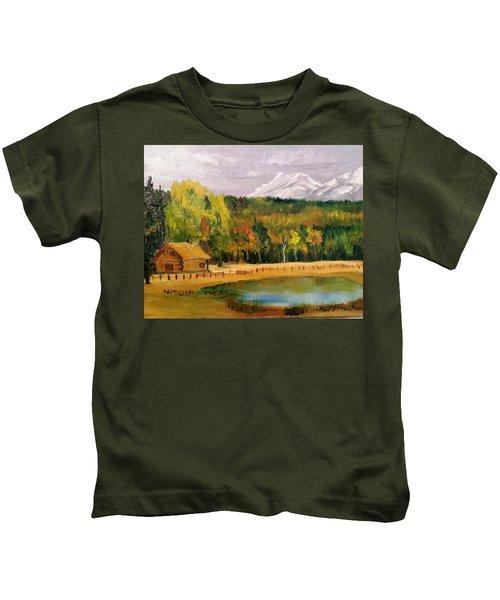 Road To Kintla Lake Kids T-Shirt