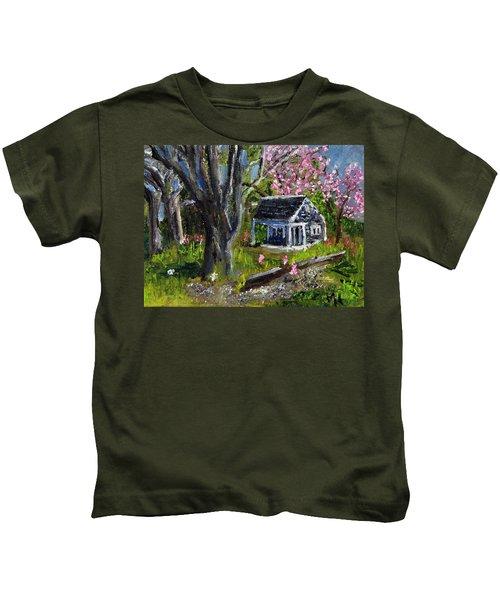 Roadside Vegetable Stand Off Season Kids T-Shirt