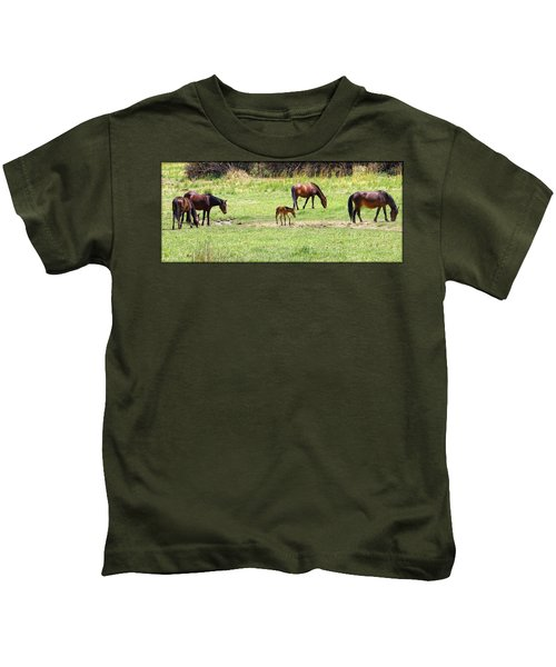 Roaming Freely Kids T-Shirt