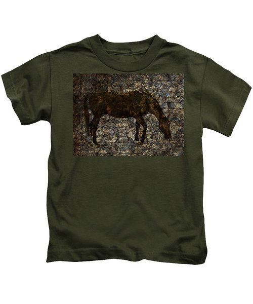 Roan Stallion Kids T-Shirt