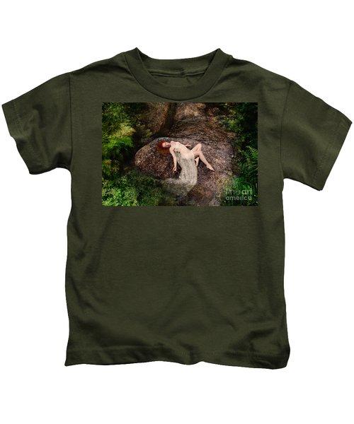 Rock Bathing Kids T-Shirt