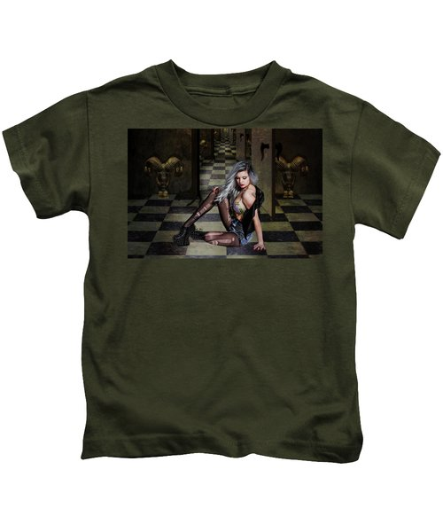 Rock Chick Kids T-Shirt