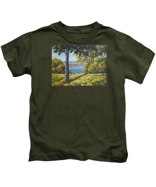 Rock Cut State Park Kids T-Shirt