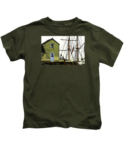Rockport Harbor Kids T-Shirt