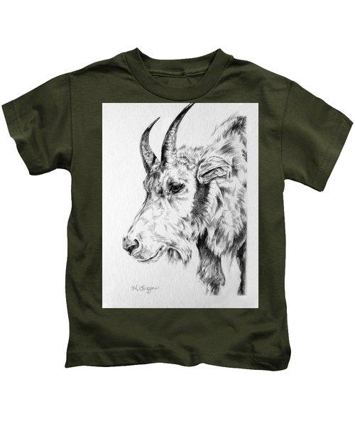 Rocky Mountain Goat Kids T-Shirt