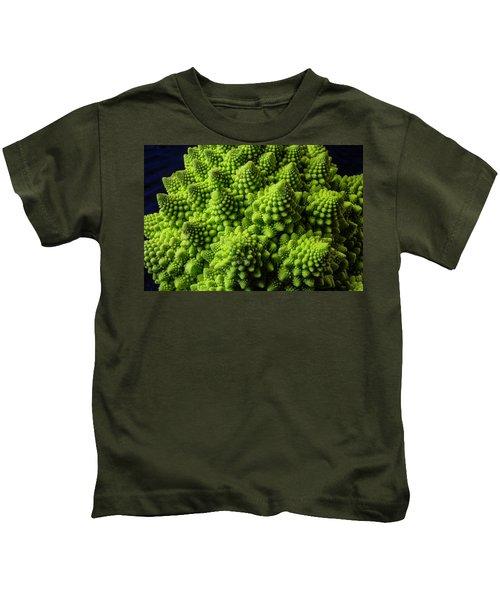 Romanesco Broccoli Kids T-Shirt