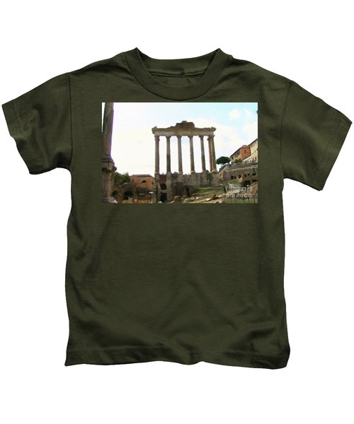 Rome The Eternal City Kids T-Shirt