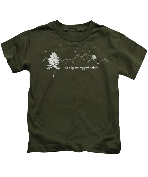 Roots In Appalachia Kids T-Shirt
