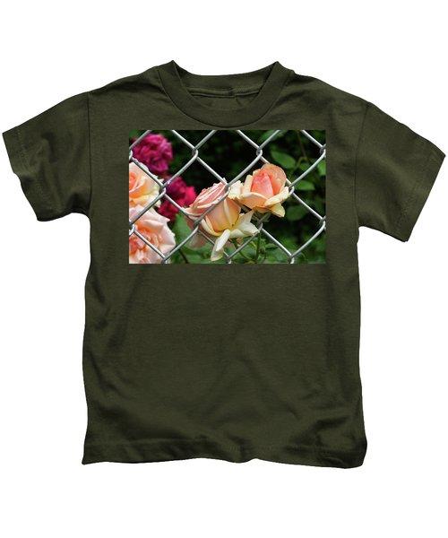 Rose Fence Kids T-Shirt
