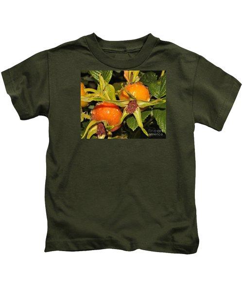 Rose Hips Kids T-Shirt