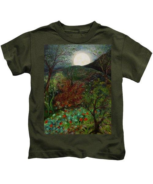 Rose Moon Kids T-Shirt