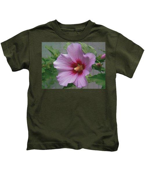 Rose Of Sharon Kids T-Shirt