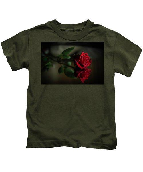 Rose Reflected Kids T-Shirt