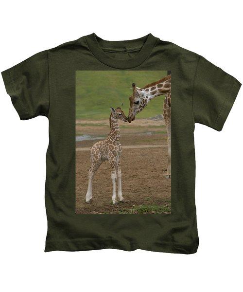 Rothschild Giraffe Giraffa Kids T-Shirt