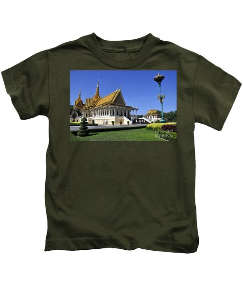 Roy Palace Cambodia 01 Kids T-Shirt