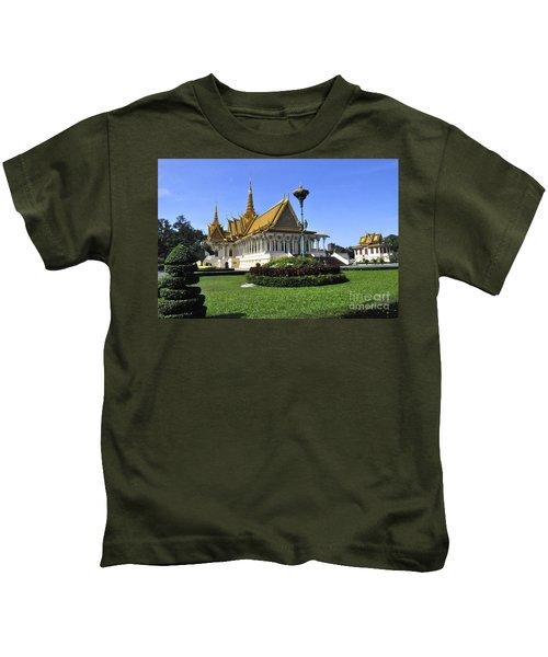Roy Palace Cambodia 03 Kids T-Shirt