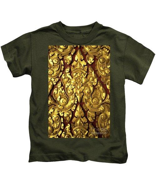 Royal Palace Gilded Door 03 Kids T-Shirt
