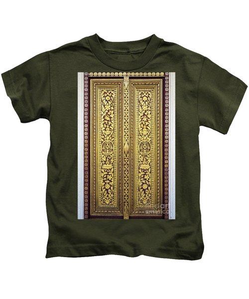 Royal Palace Gilded Doors Kids T-Shirt