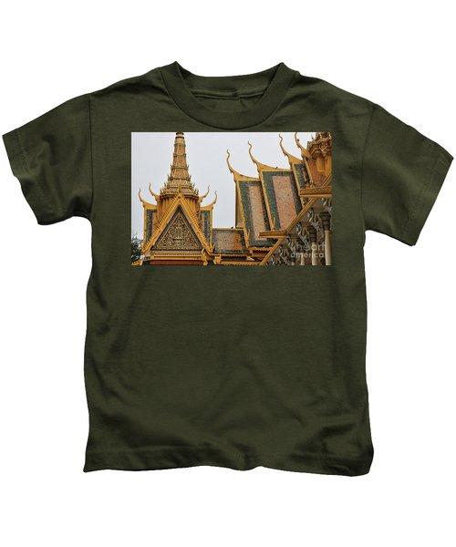 Royal Palace Gold  Kids T-Shirt