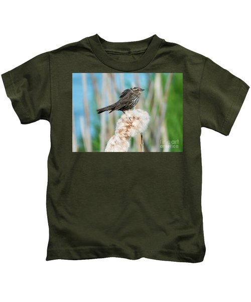 Ruffled Feathers Kids T-Shirt by Mike Dawson