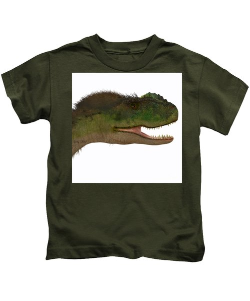 Rugops Dinosaur Head Kids T-Shirt