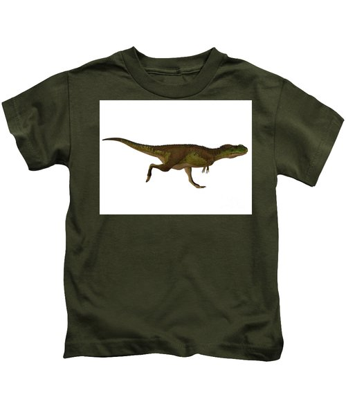 Rugops Dinosaur Side Profile Kids T-Shirt