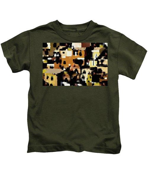 Ruins, An Abstract Kids T-Shirt