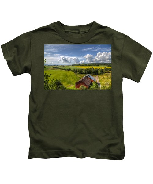 Rural Landscape Kids T-Shirt