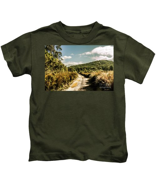 Rural Paths Out Yonder Kids T-Shirt