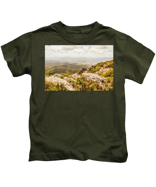 Rural Town Valley Kids T-Shirt