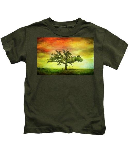 Rushford Tree On 43 Kids T-Shirt