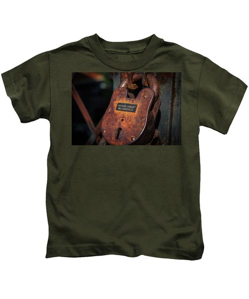 Rusty Lock Kids T-Shirt