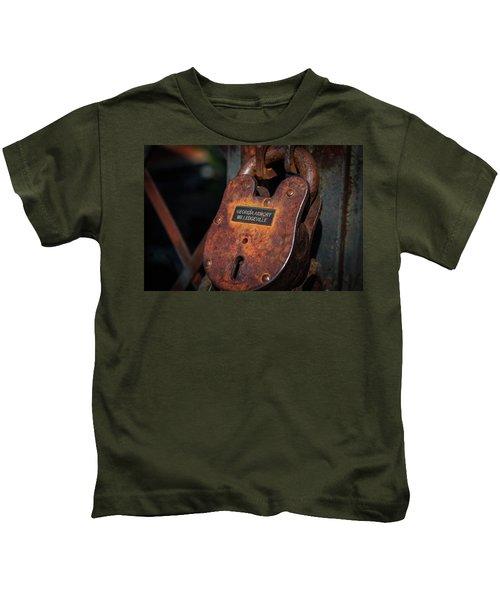 Rusty Lock Kids T-Shirt