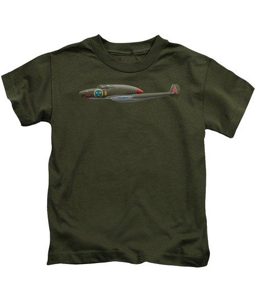 Saab J21 A - Prototype - Side Profile View Kids T-Shirt