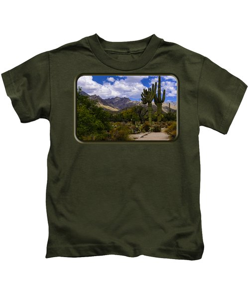 Sabino Canyon No4 Kids T-Shirt