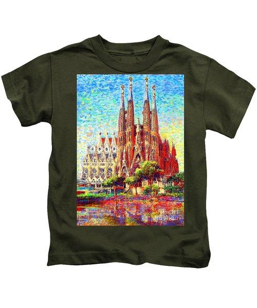 Sagrada Familia Kids T-Shirt