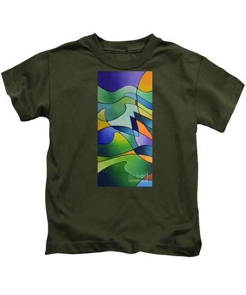 Sailing Away, Canvas One Kids T-Shirt