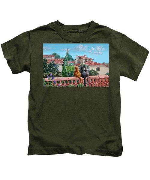 Saint-frajou. August. Kids T-Shirt