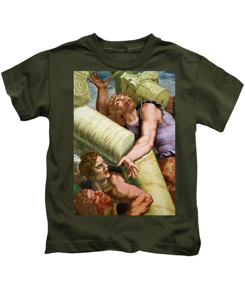 Sala Dei Giganti Kids T-Shirt