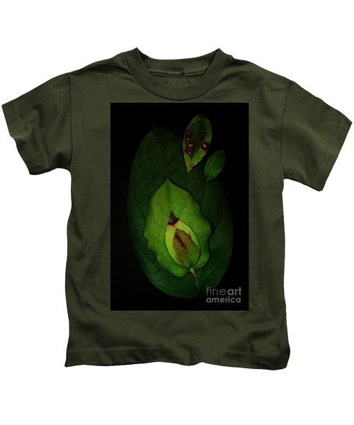 Salal Leaves Kids T-Shirt