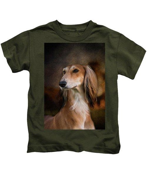 Saluki Kids T-Shirt