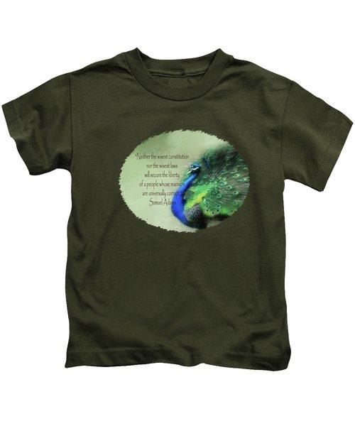 Samuel Adams - Quote Kids T-Shirt