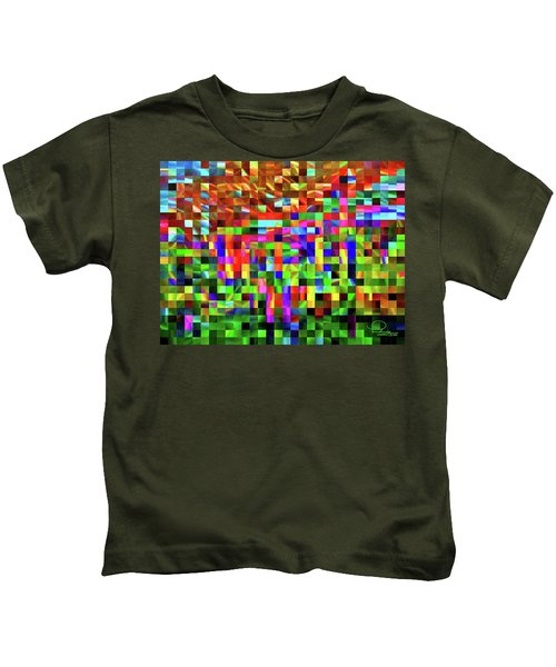 Satin Tiles Kids T-Shirt