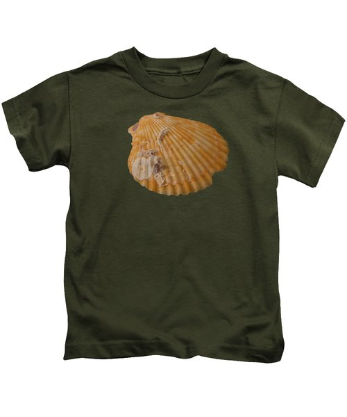 Scallop Shell With Guests Transparency Kids T-Shirt