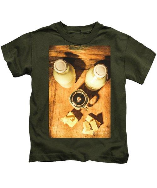 Scene From A Farm Kitchen Kids T-Shirt
